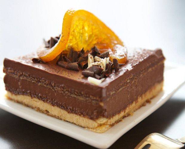 Gateaux Opera A l'Orange by Eric Lanlard for Carte Noire