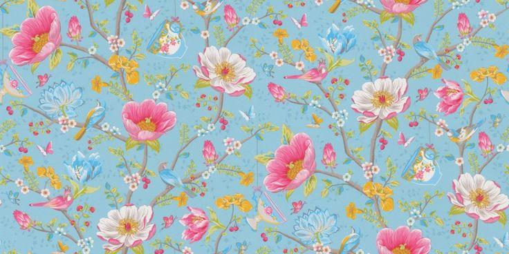 Chinese garden 341002 pip wallpaper wallpapers a fun for Pip probert garden designer