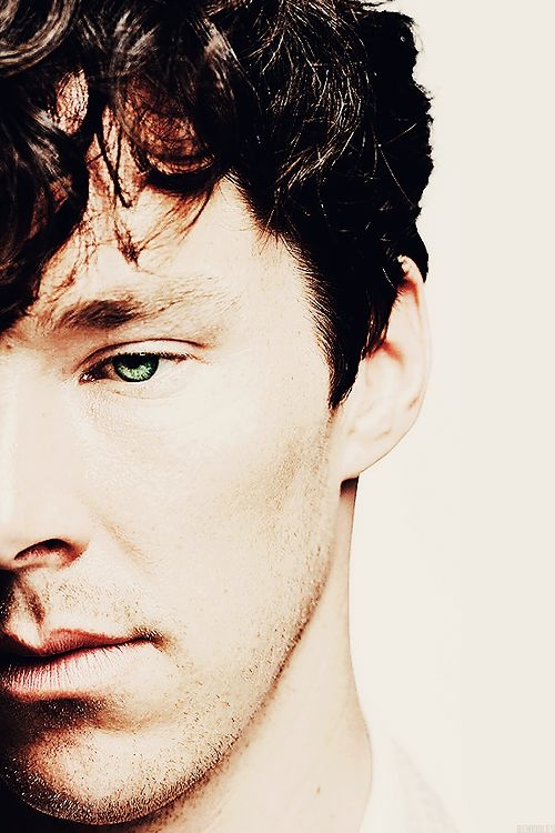 Benedict Cumberbatch. He is so alien looking.  Not a bad thing necessarily.