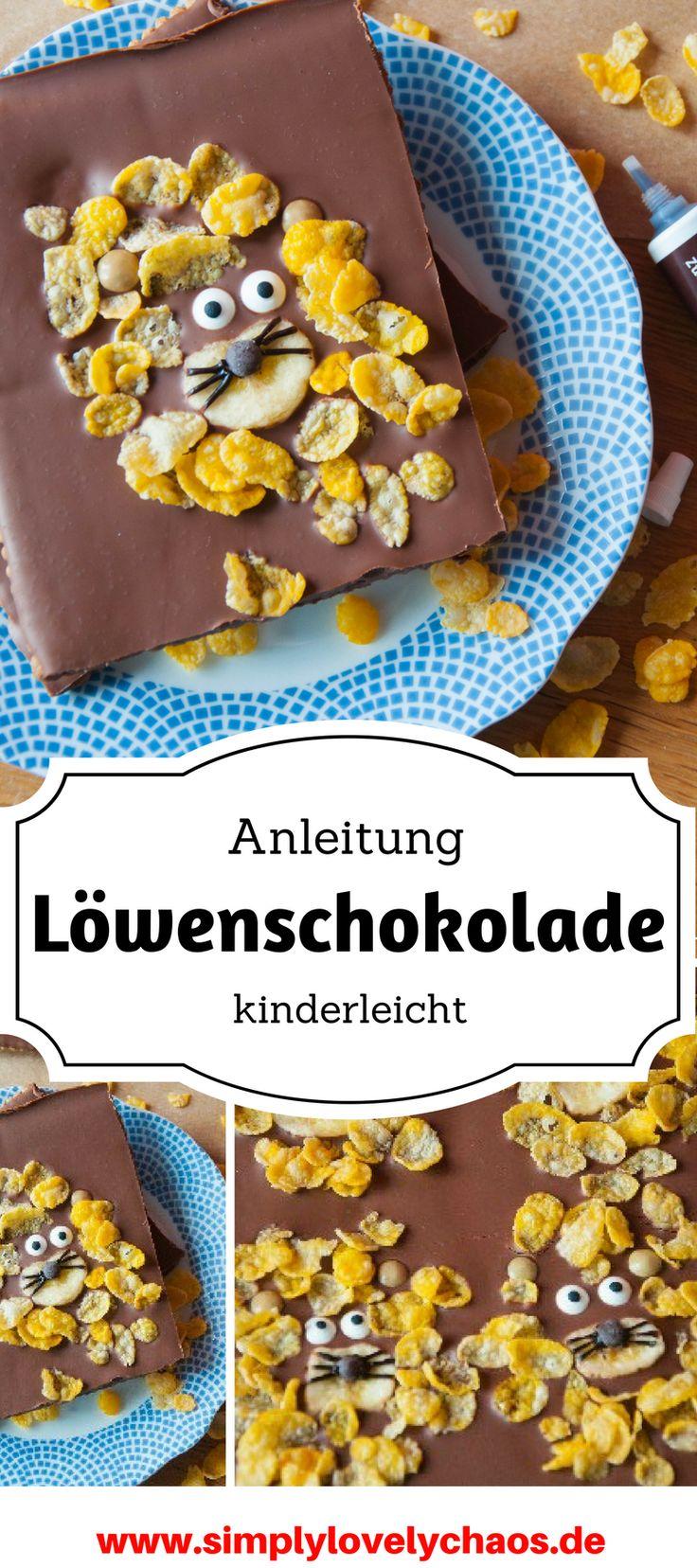 Kinderleichte Anleitung für ein tolles Schokoladen DIY. Genial für Kindergeburtstage und als Give Away.