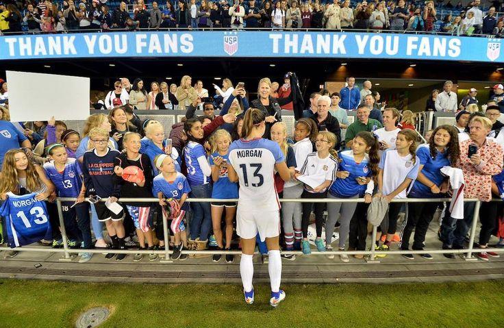 Alex Morgan ⚽️ USAvROU at Avaya Stadium in San Jose, CA (11.10.2016)