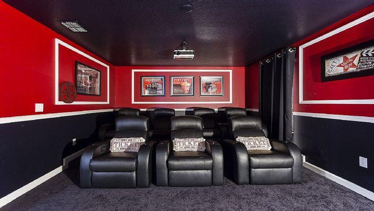 Un cinema tutto per voi in questa casa vacanza in Florida, USA