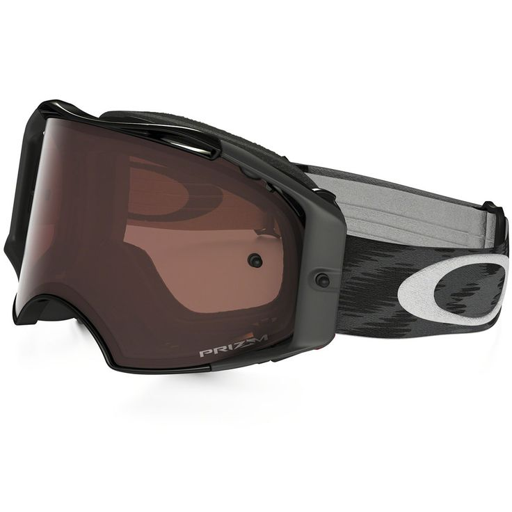 Oakley AIRBRAKE MX - Jet Black Bronze Goggles Dirt Bike Motorcross OAOO7046-46