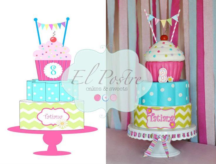 Little Girl Birthday Cake Party Ideas Pinterest