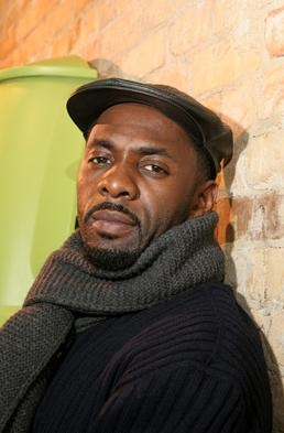 Idris Elba. I think he's so cute! And I like his style.