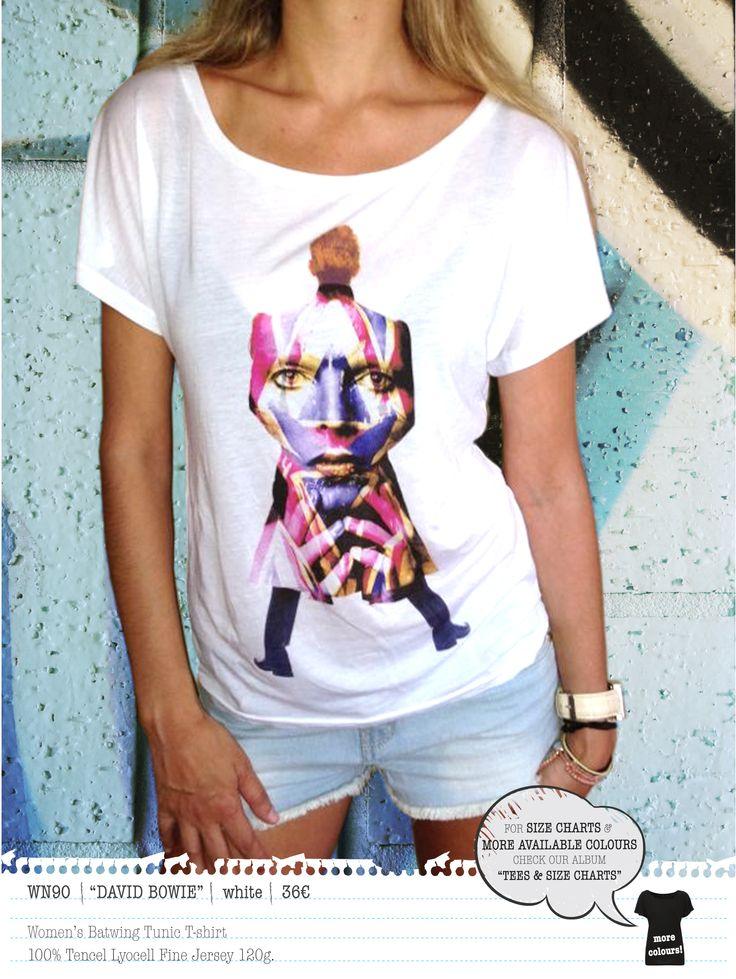 DAVID BOWIE Women's t-shirt