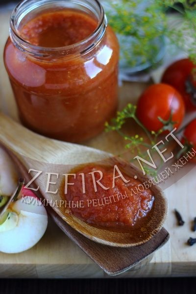 Домашний кетчуп с яблоками на зиму - рецепт и фото