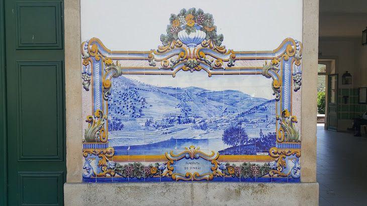 Estação do Pinhão, Douro, Portugal   Viaje Comigo