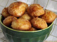 Kipróbált és bevált receptek: Sajtfánk (Gougères)