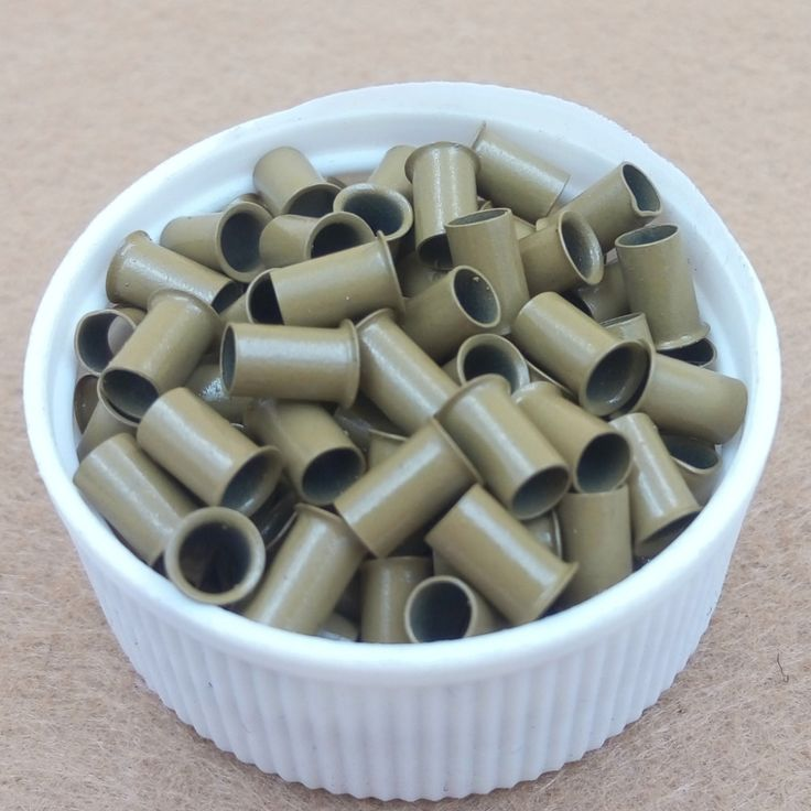 1000pcs 3.4mm long flared flaring euro locks trumpet