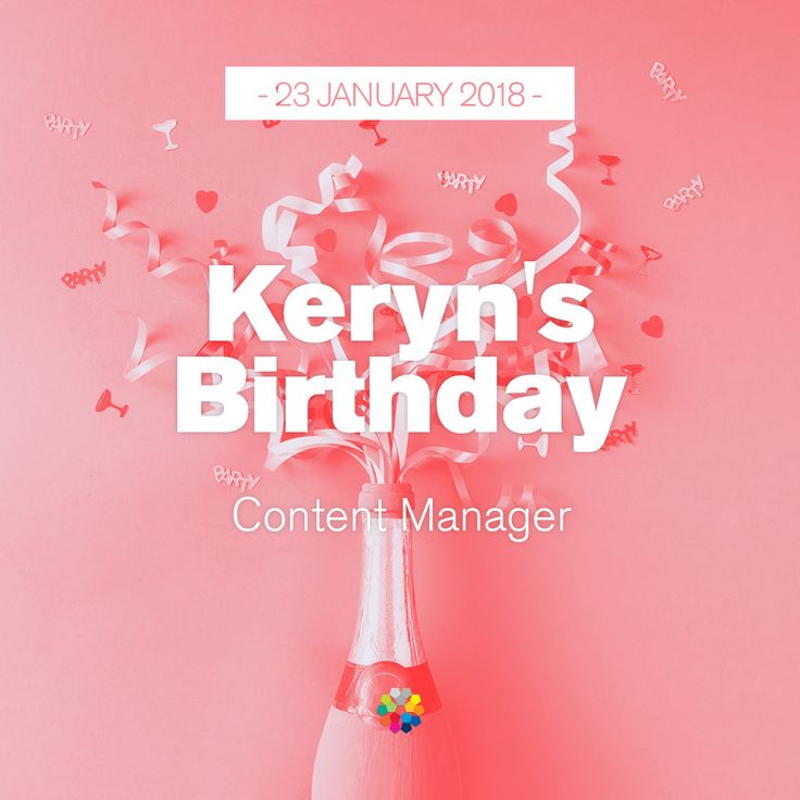 One more year better, one more year greater. Happy birthday Keryn! #happybirthday