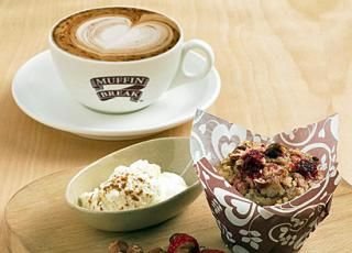 Get Exclusive Discount On Food & Beverages worth Rs.1000 in Just Rs.549 at Muffin Break (All Outlets in India) PLEASE DO NOT USE ANY PROMO CODE Voucher Hard Copy would be delivered within 7 working days.