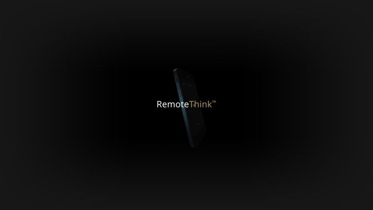 Introducing — RemoteThink™. RemoteThink™ redefines the TV remote control as we know it with a conceptual mobile interface using your smartph...