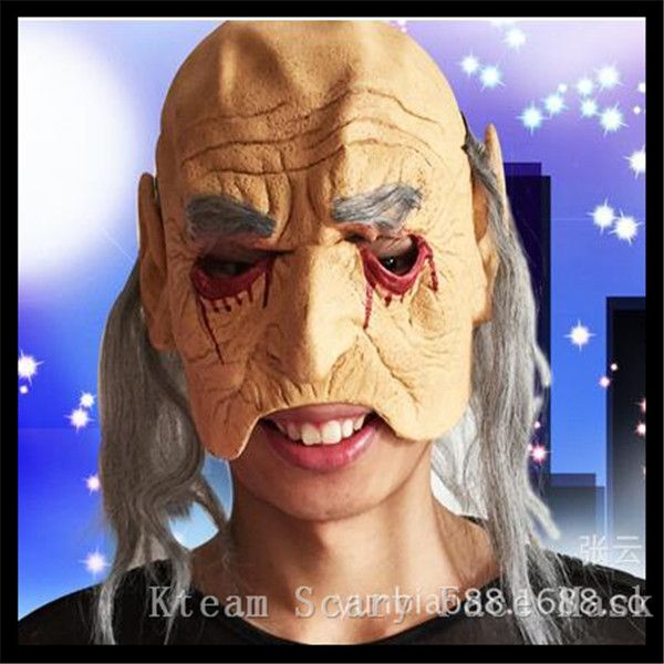 2017 NewScary Masks mascaras de latex realista Mummy Mask Adult Full Head Halloween Mask Fancy Party Cosplay Costume Theater Toy