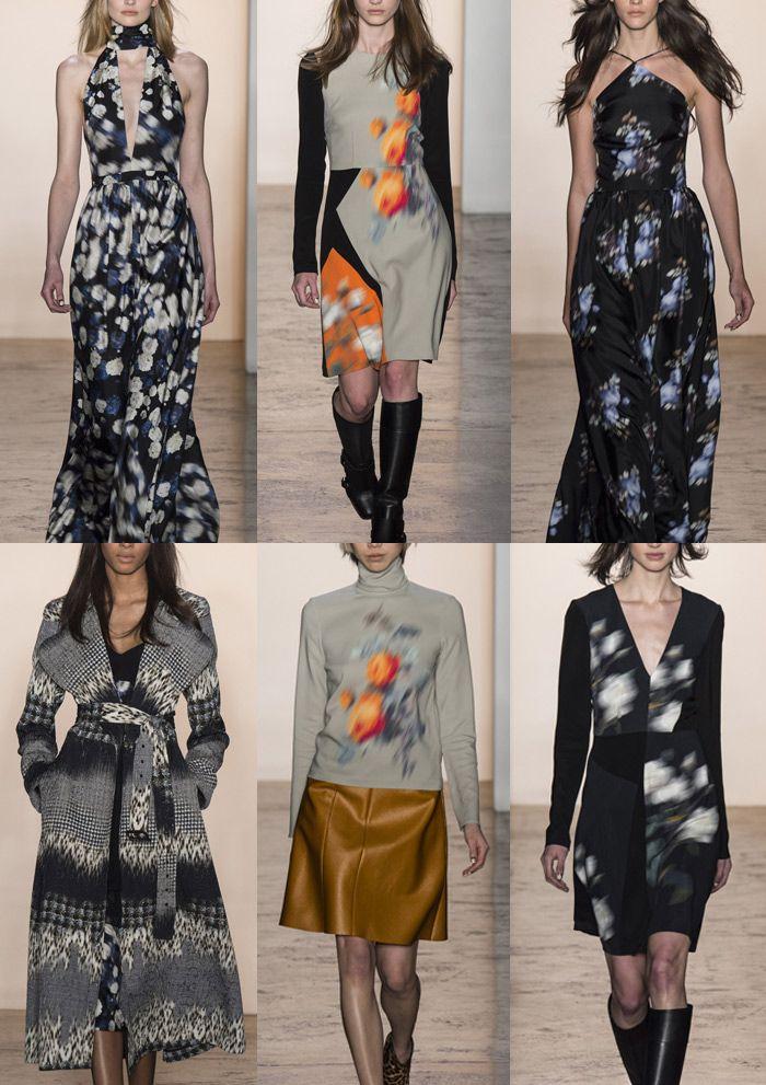 Peter Som A/W 2014/15 New York Fashion Week