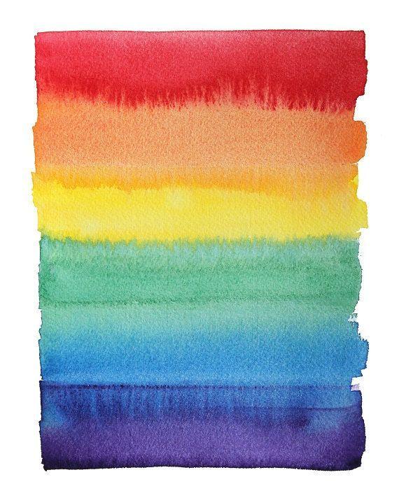 LGBT Flag LGBT Pride Gay Pride Gay Art Rainbow by sandraculliton