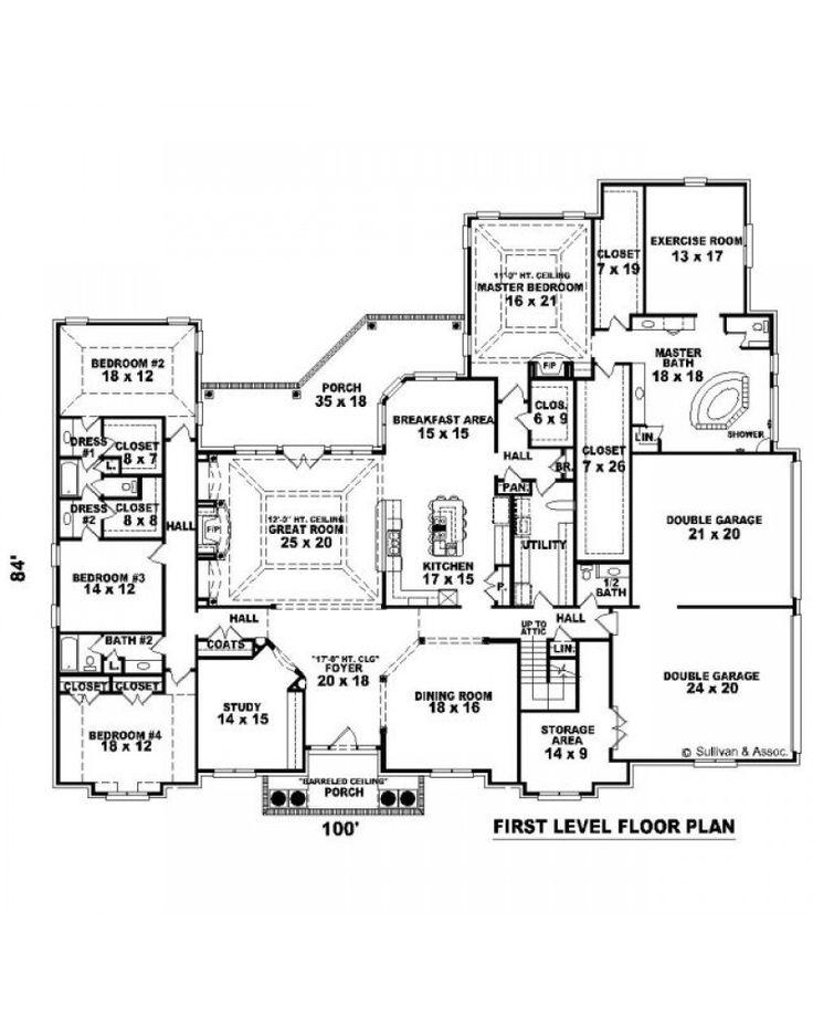 AmazingPlans House Plan SUL 4902 1198 1885 FC