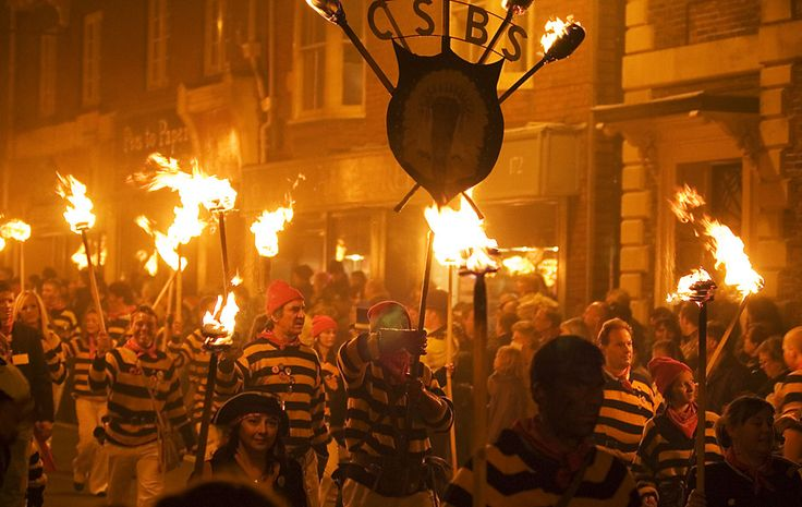 Lewes Bonfire Night, England. Cannot wait to see this in person this year!