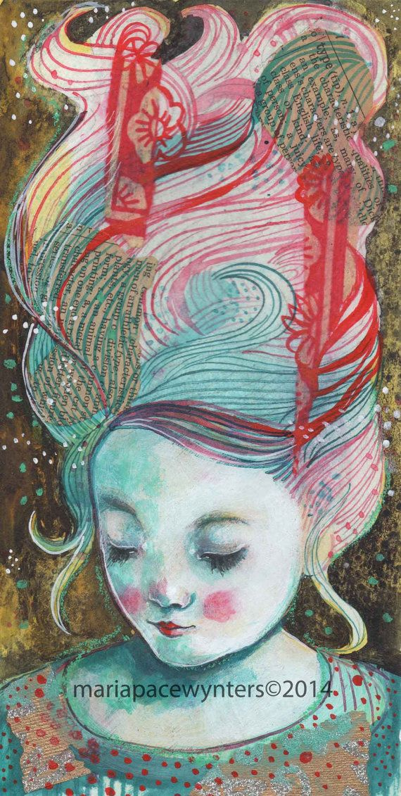 Sweet Dreams- Original painting by Maria Pace-Wynters