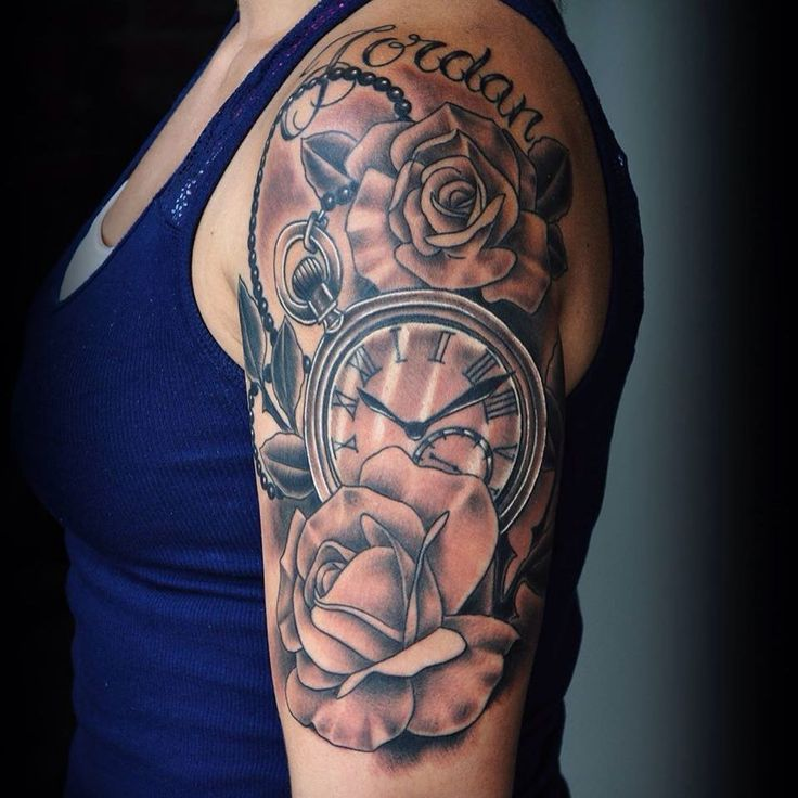 50 Cool Half Sleeve Tattoo Ideas For Men & Women Check more at http://tattoo-journal.com/50-cool-half-sleeve-tattoos/