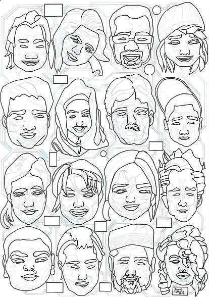 james-mathurin-art | New Project: Celebrating Diversity