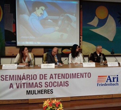 #arifriedenbach #violênciacontramulher #lei11340 #mariadapenha  VEREADOR ARI FRIEDENBACH PROMOVE O VIII SEMINÁRIO DE ATENDIMENTO A VÍTIMAS SOCIAIS, REALIZADO NA CÂMARA MUNICIPAL DE SÃO PAULO http://www.policiamunicipaldobrasil.com/index.php?pg=3&sub=15133