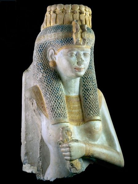 Statue of Meritamen,a daughter and consort of Ramesses II.