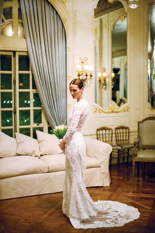 1000  images about Wedding dress on Pinterest | Kate moss wedding ...