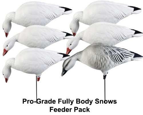 Avery GHG Pro-Grade Full Body Snow Goose Feeder 6-Pack - 71189