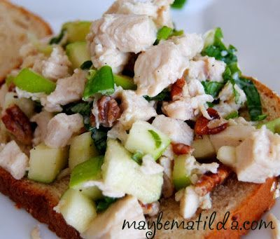 .clickbank.net awesome Maybe Matilda: Crisp Chicken Salad with Apple ...