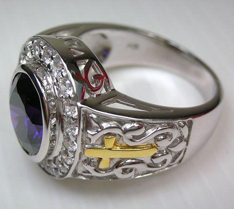 Silver Bishop Rings