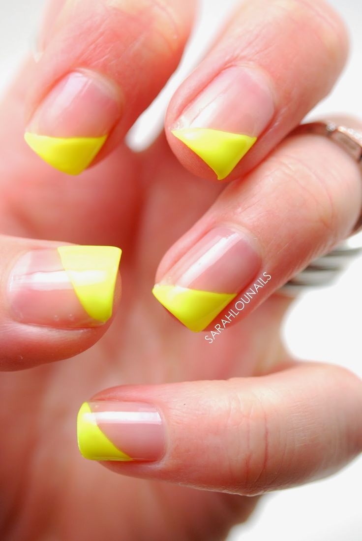 17 Best ideas about Neon Yellow Nails on Pinterest | Neon ...