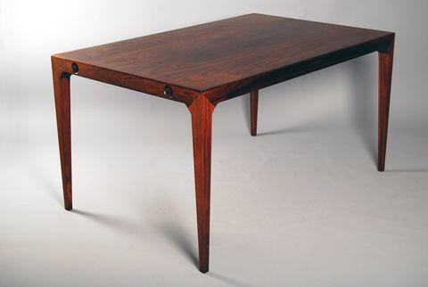 Dining table by Kai Winding & Poul Hundevad for Hundevad Vamdrup 1950's Price: 24500 SEK Size: 140 x 90 x 74 cm Leaves: 90 x 50 cm