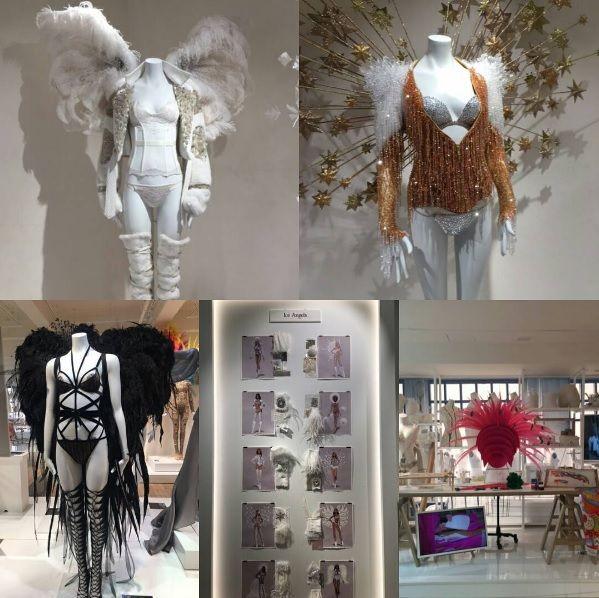 😍 ¡Enamorad@s nos tienen estos #diseños de Victoria's Secret!  ¿Sabías que en NY 🗽 se encuentra la tienda más grande de esta marca de lencería?  Hoy nos damos una vuelta por ella y por el taller donde se confeccionan estas verdaderas obras de arte✨...¿Te vienes?