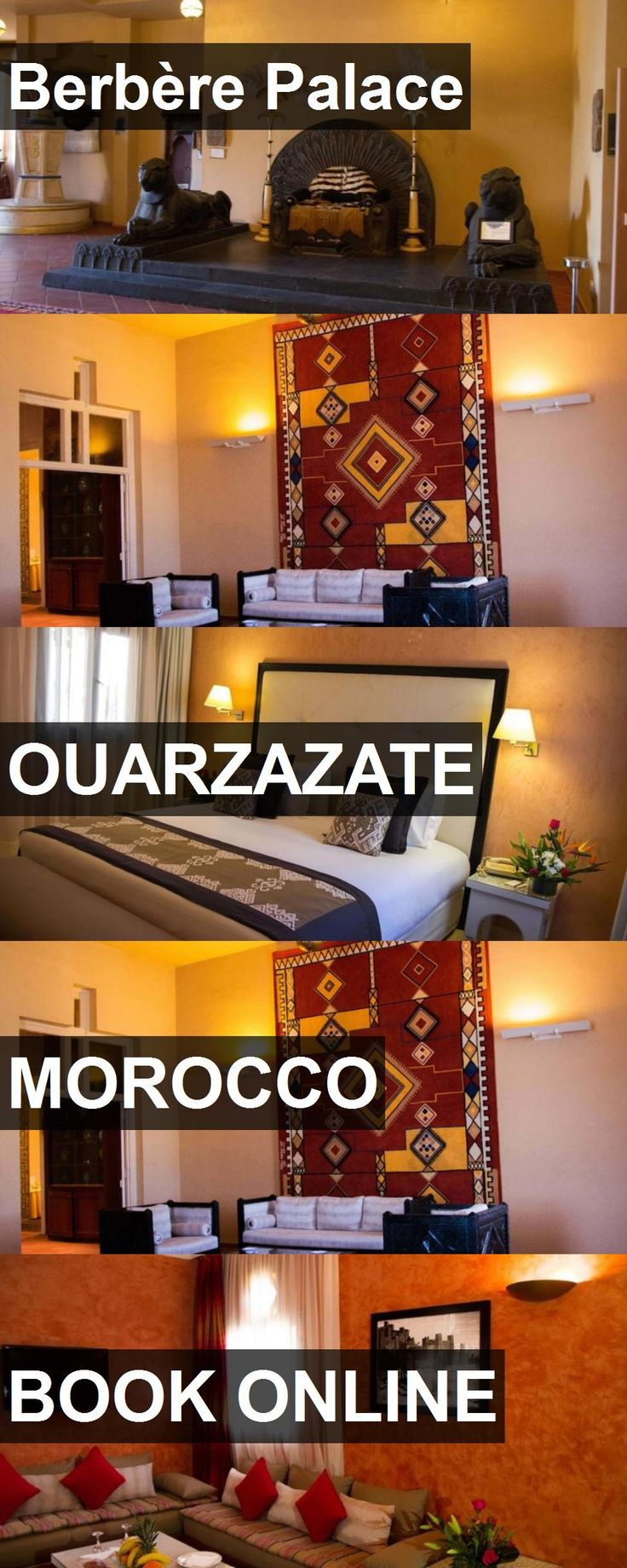 Hotel Berbère Palace in Ouarzazate, Morocco. For more information, photos, reviews and best prices please follow the link. #Morocco #Ouarzazate #travel #vacation #hotel