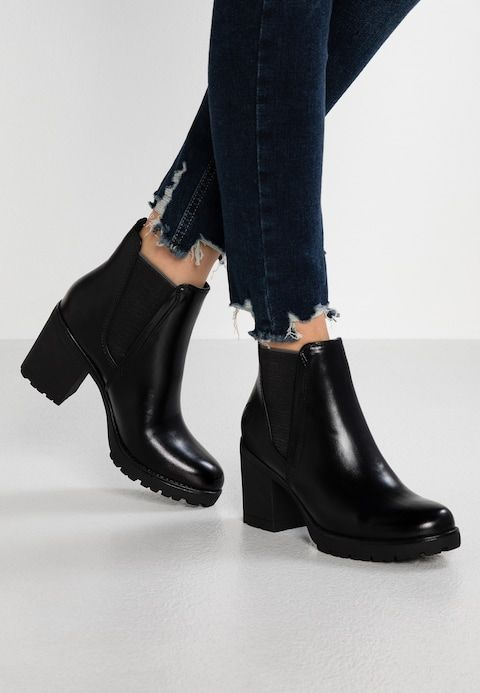Ankle boots black antic @ Zalando.co.uk | Black ankle