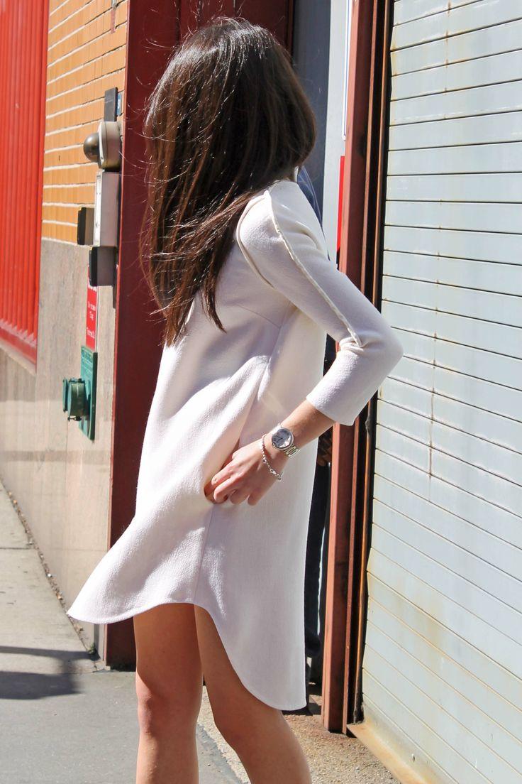 White Oversized Phillip Lim Dress