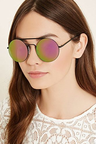 936658d05c Mirrored Round Sunglasses