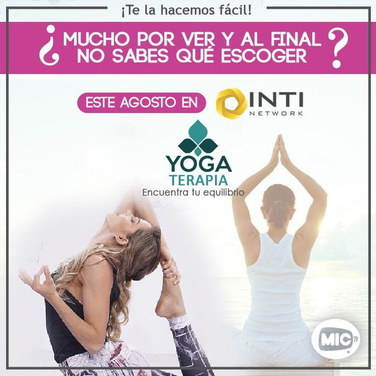 Encuentra más de nuestra programación en www.mictv.com.pe  #TeLaHacemosFácil #Intinetwork #YogaTerapia #MICTV