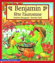31997000770602 Benjamin fête l'automne. L'automne devient le prétexte pour organiser une fête chez Benjamin. Les invités seront plus nombreux que prévu. Un album où l'on prend plaisir à préparer la fête et où l'amitié et le partage sont à l'honneur.
