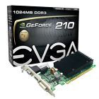 ﹩52.75. nVidia GeForce 1GB Video graphics Card Low profile VGA/DVI/HDMI PCI Express x16    Chipset-GPU Manufacturer - NVIDIA, Compatible Port-Slot - PCI Express 2.0 x16, Connectors - DVI Output, Cooling Component(s) Included - None/Video Card only, Cooling - Passive, Memory Size - 1GB, Compatible Port/Slot - PCI Express x16, Chipset/GPU Chipset/GPU Manufacturer - NVIDIA, APIs - DirectX 10.1, Memory Type - DDR3, Brand - EVGA