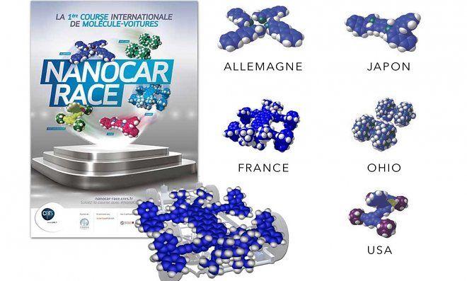 В конце апреля состоятся гонки микроскопических машин