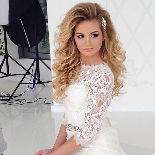 Lovely Bridal Look Make Up Hairstyles Web Www Elstile Ru: 31 Best Images About Hair Styles I Like On Pinterest