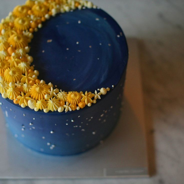 Free Weights Your Design Lyrics: Crescent Moon Cake. Cake Decorating Ideas