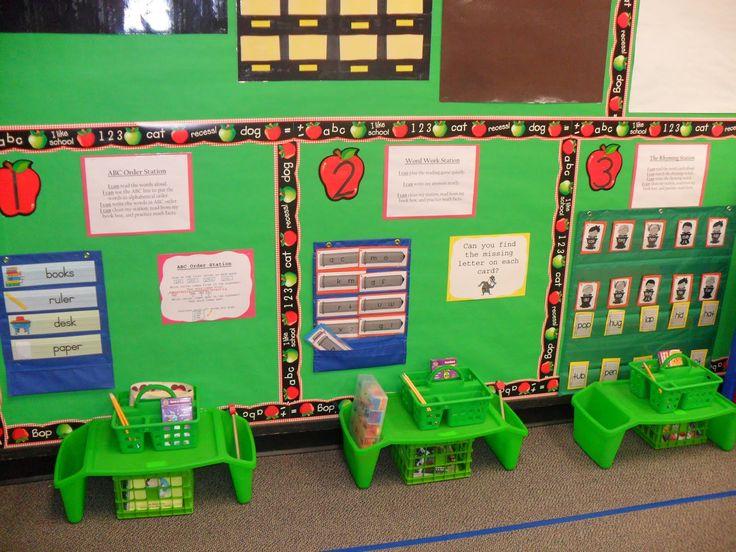 literacy centers..very neat!