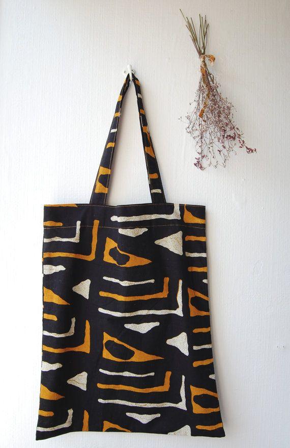 African tote bag van MimiPaulusma op Etsy