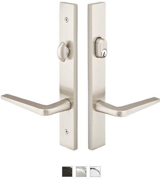 Emtek 13a1 3 Brass Modern Style Multi Point Trim For Patio Doors Kitchen Pinterest Entry