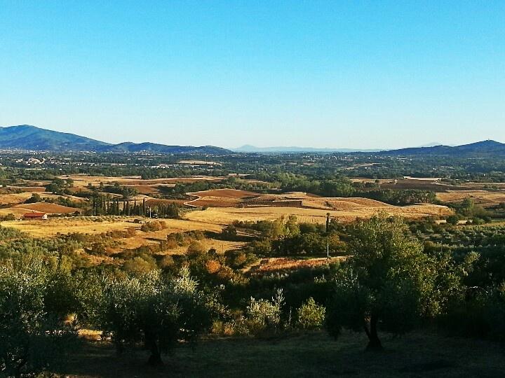 Arezzo Tuscany Tuscan landscape