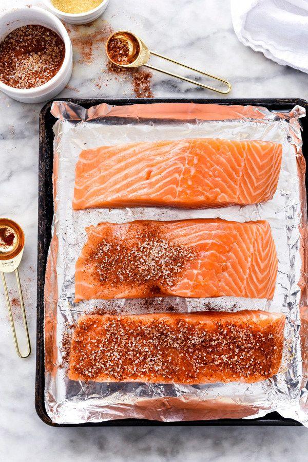 Salmón con miel. | 20 Recetas de cenas saludables que puedes hacer en 20 minutos