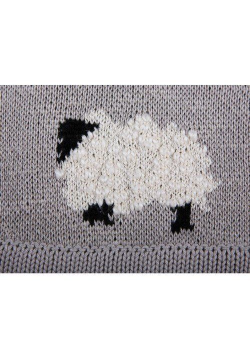 Counting Sheep Knitted Blanket – PandaLove
